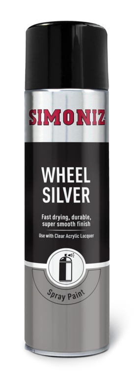 Simoniz 5 Wheel Silver - 500ml Aerosol