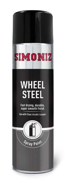 Simoniz 5 Wheel Steel - 500ml Aerosol