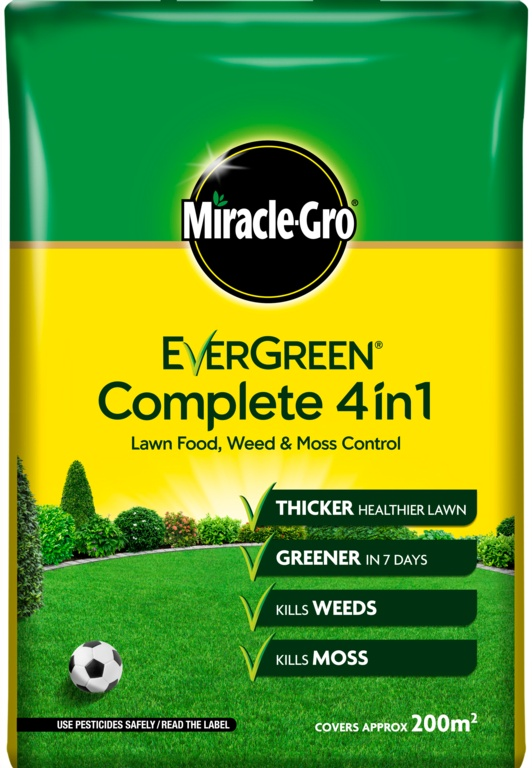 Miracle-Gro Evergreen Complete 4 in 1 - 200m2 Bag