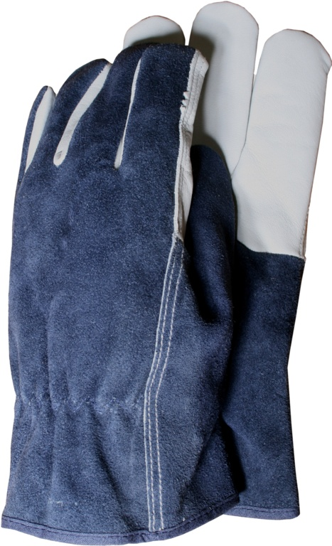 Town & Country Premium Leather and Suede gloves large - Large