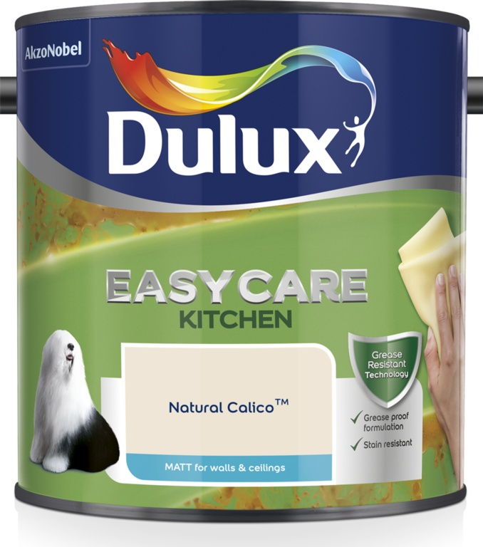 Dulux Easycare Kitchen Matt 2.5L - Natural Calico