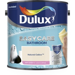 Dulux Easycare Bathroom Soft Sheen 2.5L Natural Calico