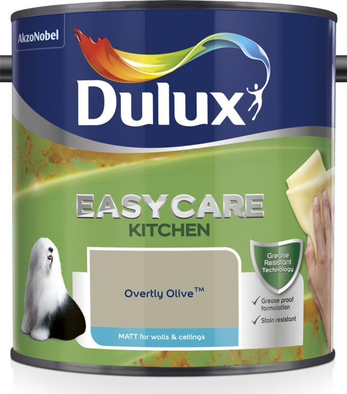 Dulux Easycare Kitchen Matt 2.5L - Overtly Olive
