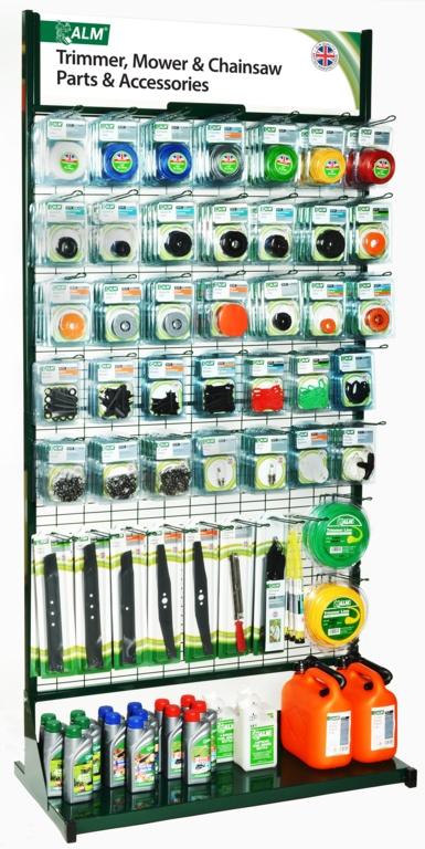 ALM Popular Parts Stand - 1 metre wide floor display