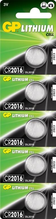 GP Lithium Coin Cell C1 - CR2016