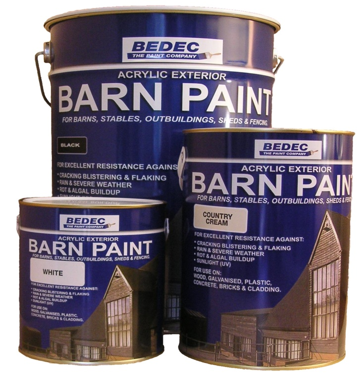 Bedec Barn Paint 2.5L - Black