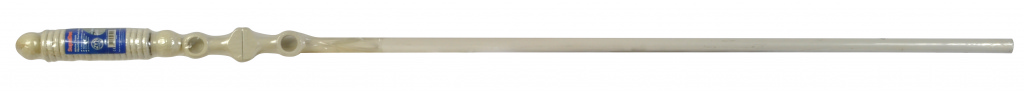 SupaDec White Finish Wooden Curtain Pole - 180cm, 28mm diameter