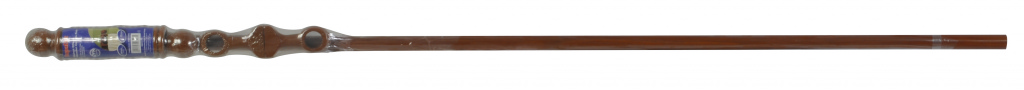 SupaDec Walnut Effect Wooden Curtain Pole - 180cm, 28mm diameter