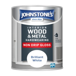 Johnstone's Non Drip Gloss - Brilliant White