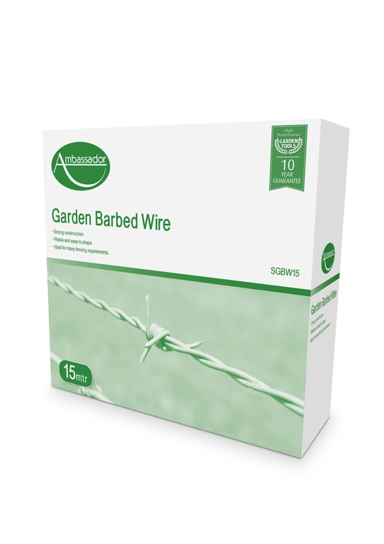 Ambassador Barbed Wire - 15 metre