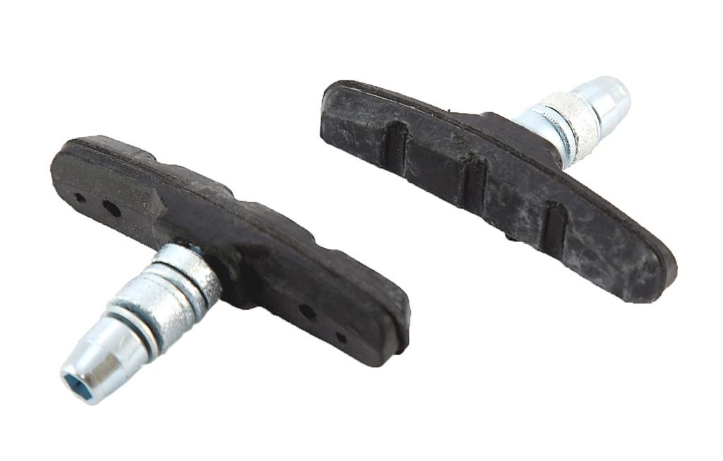 Sport Direct V Type Brake Blocks with Nuts - 70mm - Black