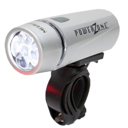 Sport Direct Mega White Bike Light - Front