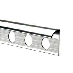 Tile Rite Tile Trim - 2.4m x 12mm Chrome