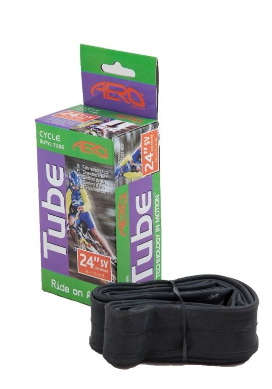 Aero Sport Butyl Inner Tube (Schrader Valve) - 24