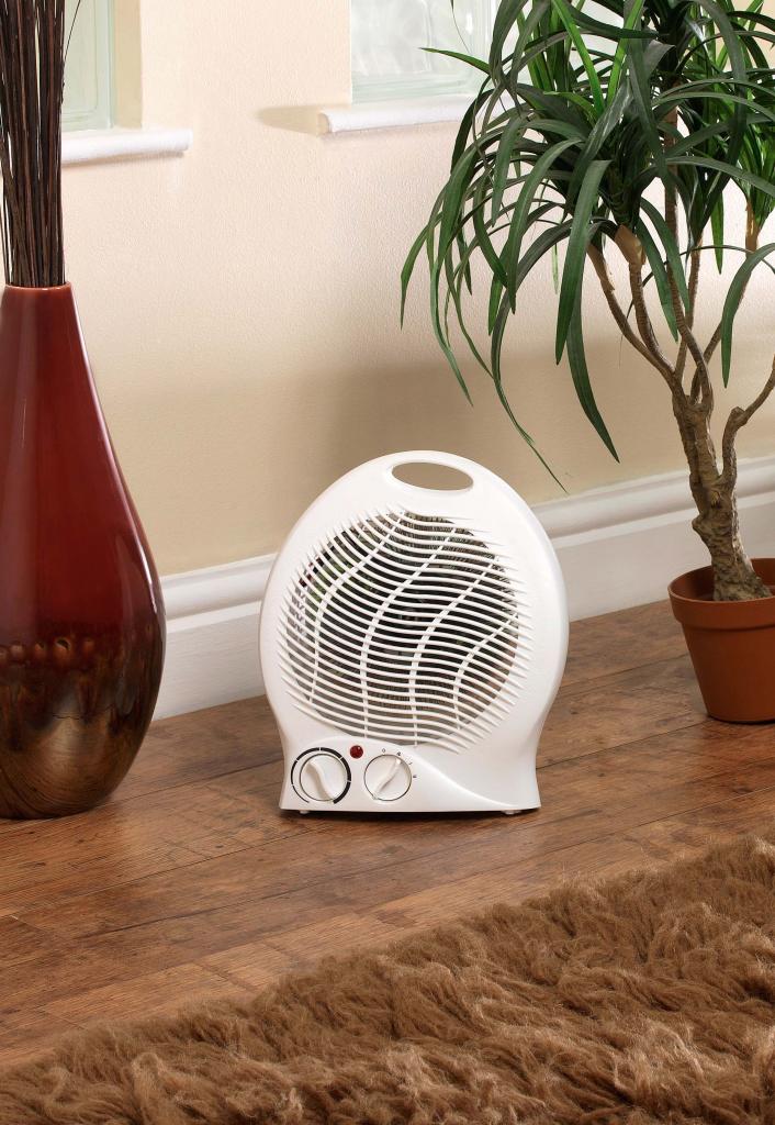 SupaWarm Fan Heater 2000w - Size: 220mm(w)x130mm(d)x260mm(h)