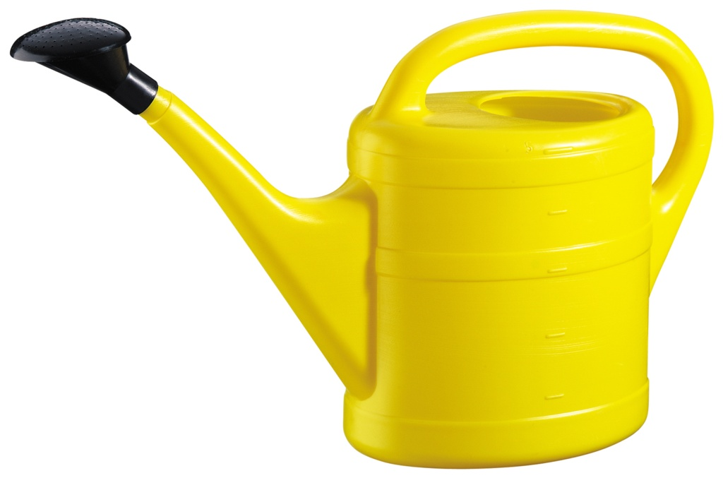 Green Wash Essential Watering Can 10L - Yellow