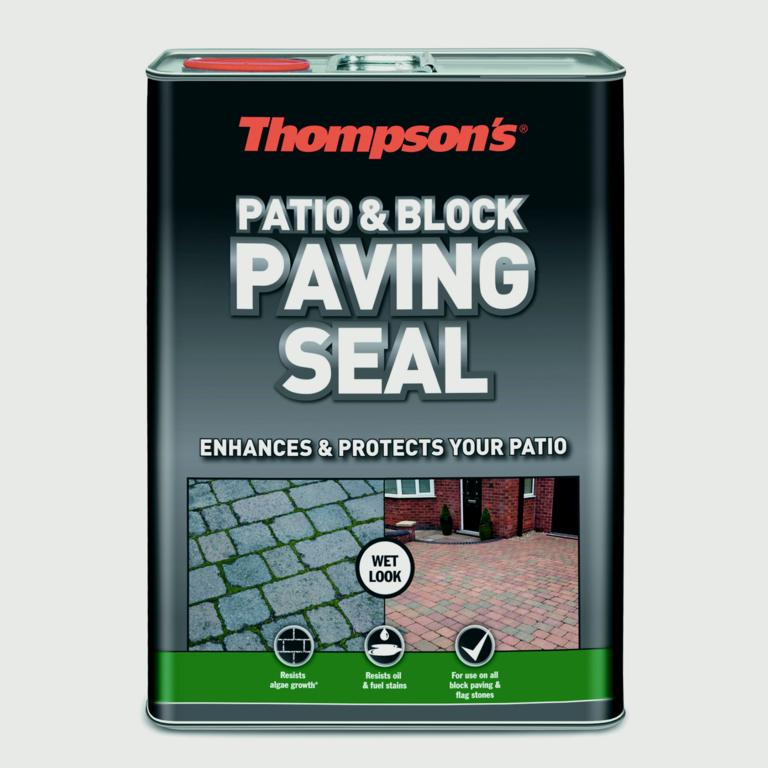 Thompson's Patio & Block Paving Seal 5L - Wet Look