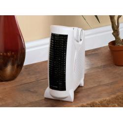 SupaWarm Fan Heater 2000W Size: 250mm(w)x120mm(d)x240mm(h)