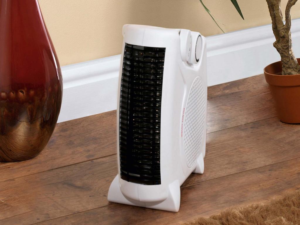 SupaWarm Fan Heater 2000W - Size: 250mm(w)x120mm(d)x240mm(h)