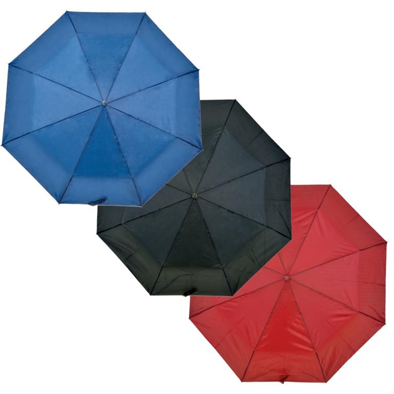 Drizzles Wood Handle Supermini Umbrella - Black, Navy, Burgundy