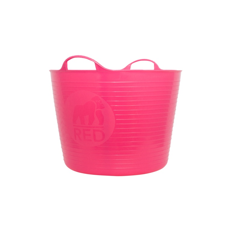 Red Gorilla Flexible Large Tub - Pink