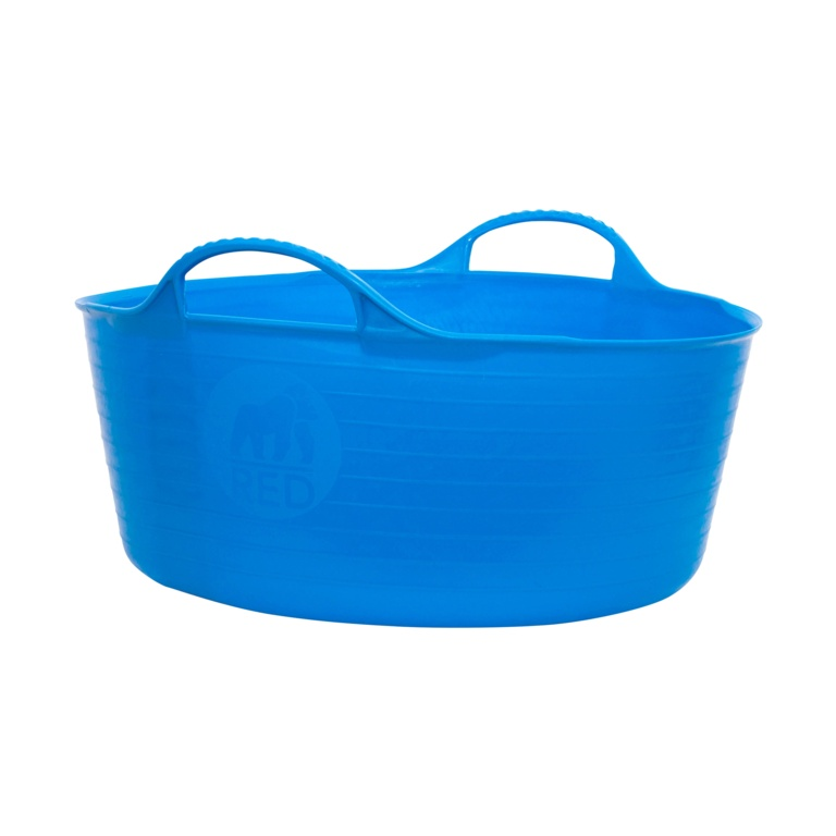 Red Gorilla Flexible Small Shallow Tub - Blue
