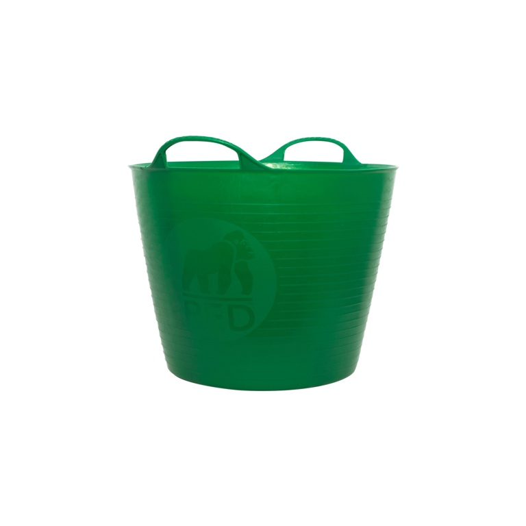 Red Gorilla Flexible Medium Tub - Green