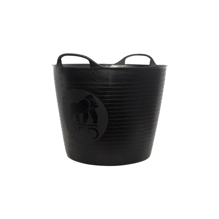 Red Gorilla Flexible Medium Tub - Black