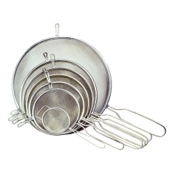 Chef Aid Metal Tinned Strainer