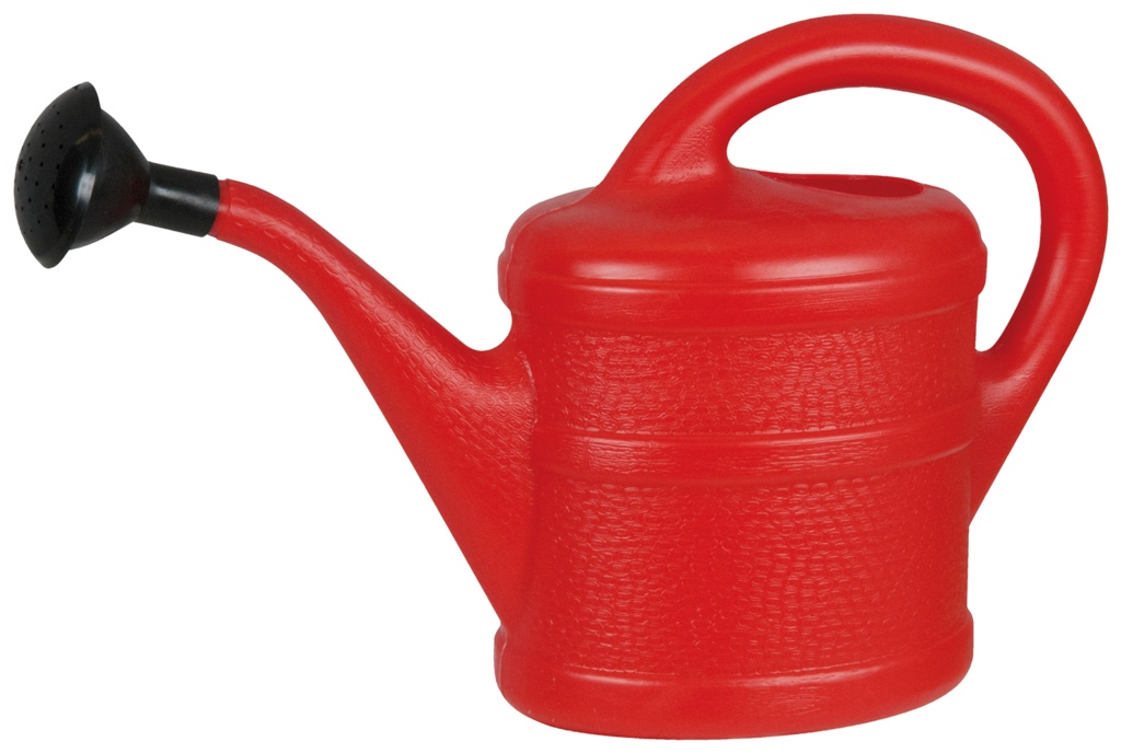 Green Wash Childrens Watering Can 1L - Red
