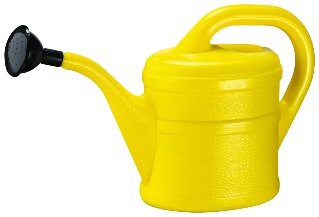 Green Wash Childrens Watering Can 1L - Yellow
