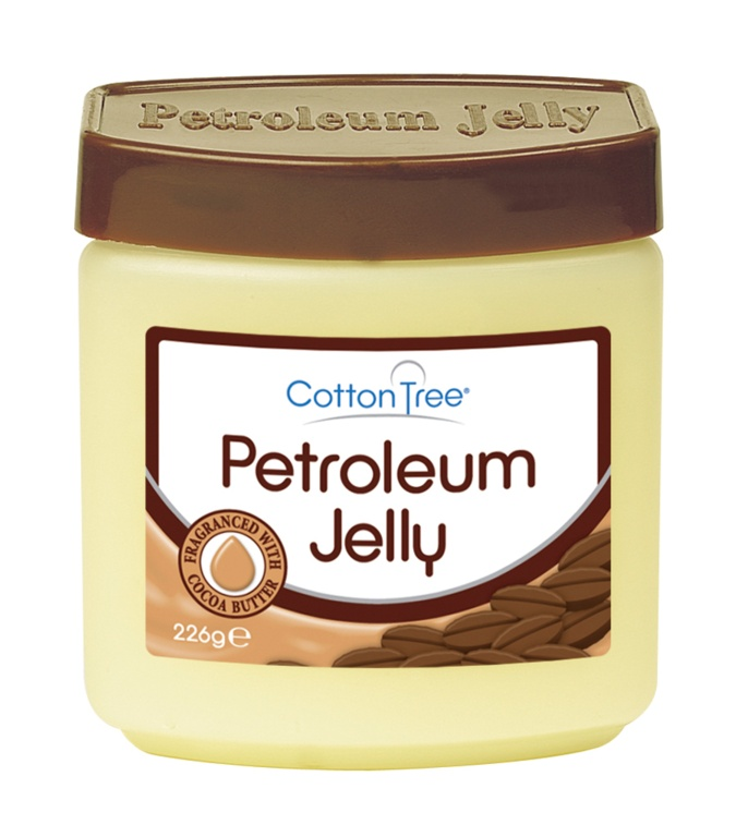 Cotton Tree Petroleum Jelly with Coco Butter - 226g Tub