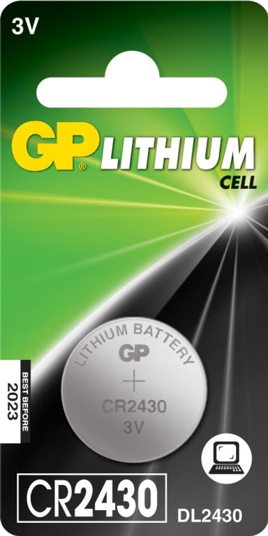 GP Lithium Coin Cell C1 - CR2430