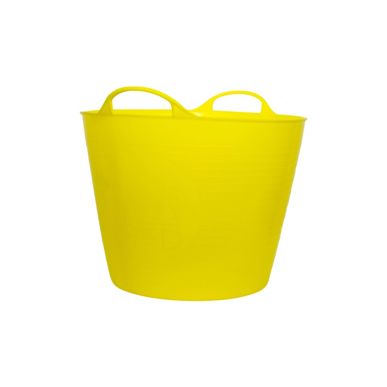 Red Gorilla Flexible Medium Tub - Yellow