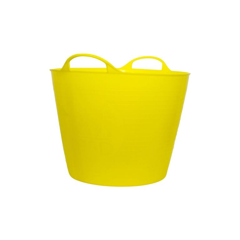 Red Gorilla Flexible Medium Tub - Yellow