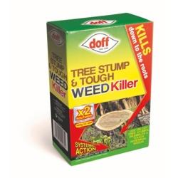 Doff New Tree Stump & Tough Weedkiller