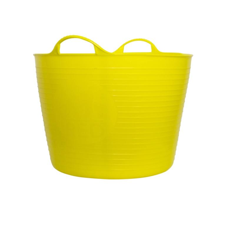 Red Gorilla Flexible Large Tub - Yellow