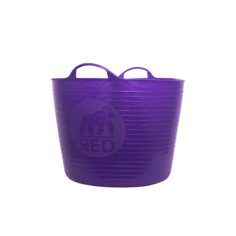 Red Gorilla Flexible Large Tub - Purple