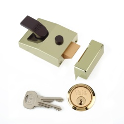 Yale Deadlocking Standard Nightlatch Security Lock - 60mm
