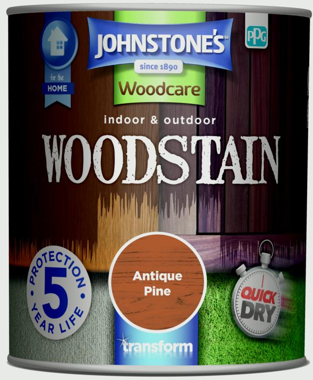 Johnstone's Indoor & Outdoor Woodstain 750ml - Antique Pine
