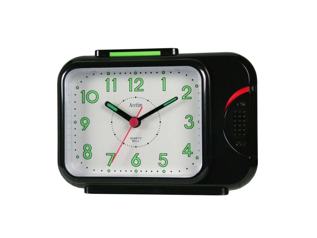 Acctim Sonnet  Alarm Clock - Black