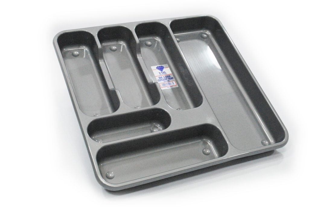 TML Large Cutlery Tray - Silver