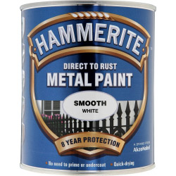 Hammerite Metal Paint Smooth 750ml White