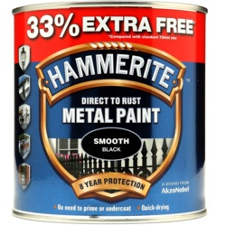 Hammerite Metal Paint Smooth 750ml + 33% Free