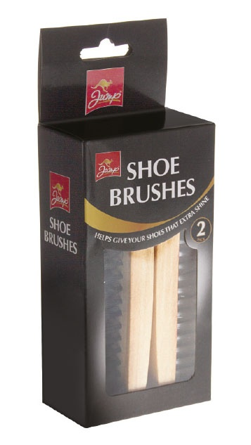 Jump Shoe Brushes - 2 Pack
