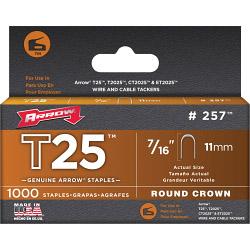 Arrow T25 Staples - 11mm