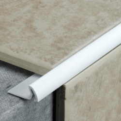 Tile Rite Tile Edging Extra Deep White - 2.4m x 12mm
