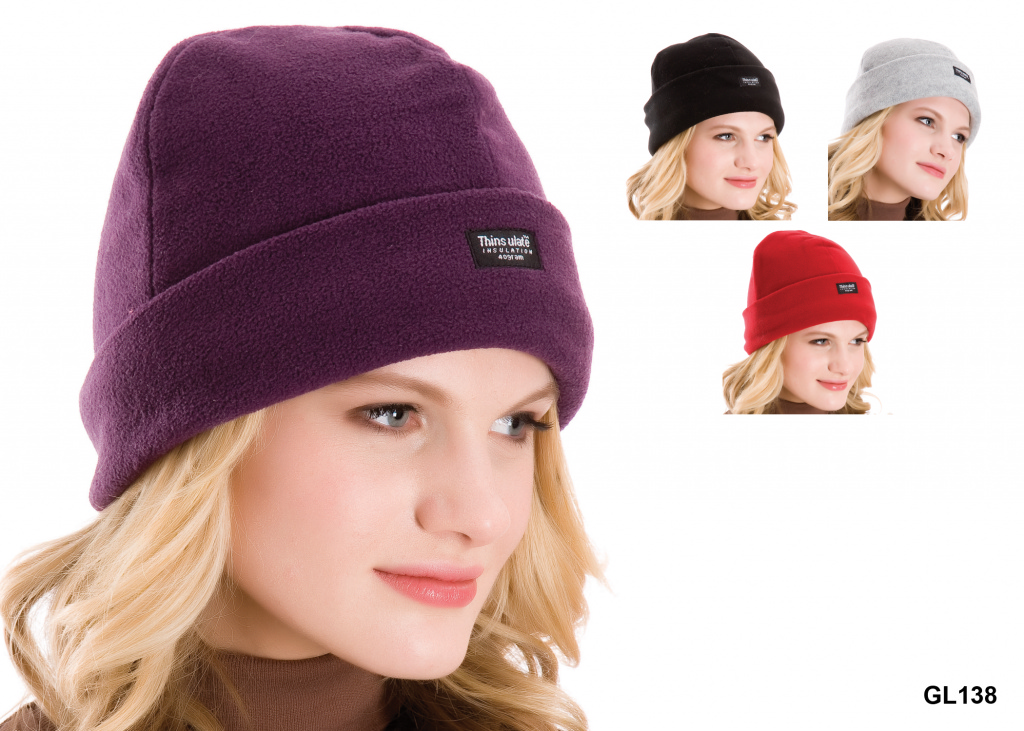 RJM Thinsulate Ladies Polar Fleece Hat