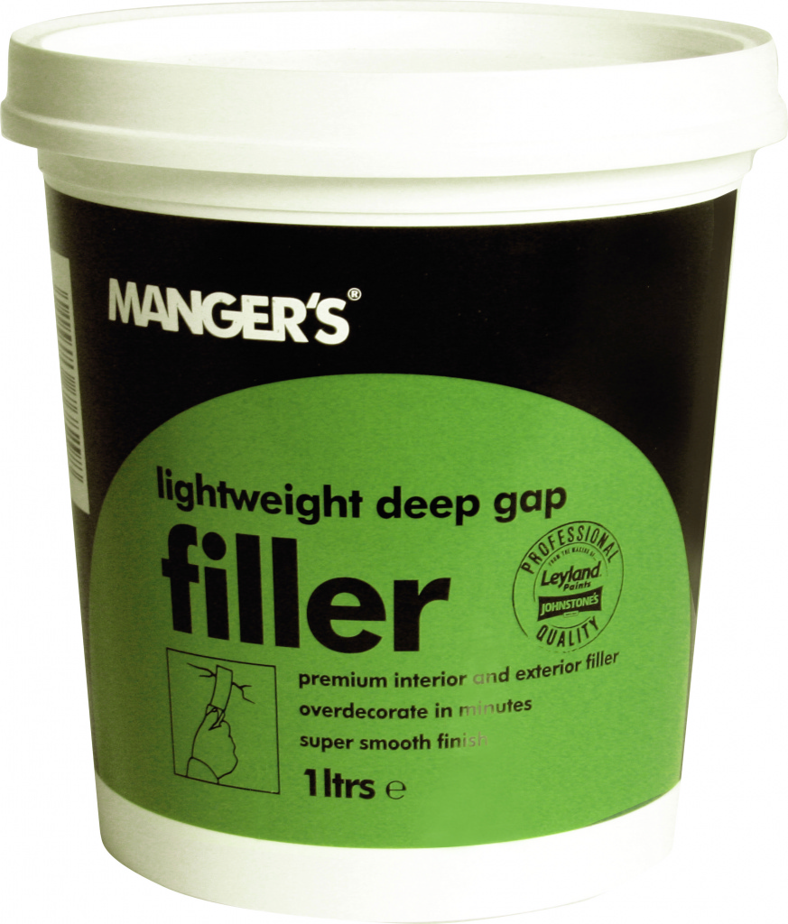 Mangers lightweight deep gap filler stax trade centres for Door gap filler