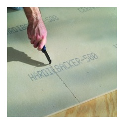 HardieBacker Cement Board for Walls